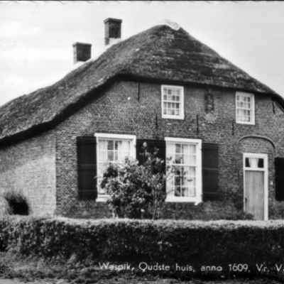 01-1982-oudstehuis1609 Oud Waspik - Heemkundekring Op 't Goede Spoor