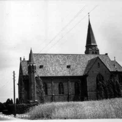 06-carmelietstr-theresiakerk-1940 Oud Waspik - Heemkundekring Op 't Goede Spoor